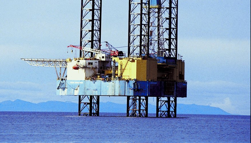 Pay scale for workers on offshore oil platforms