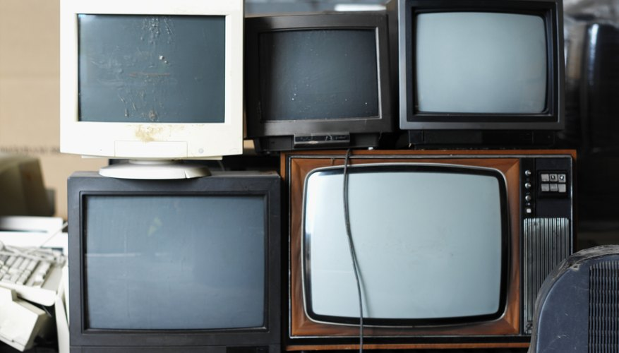 Los viejos televisores y monitores no deben ser considerados inútiles.