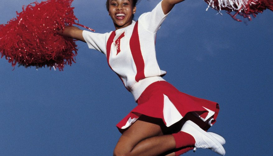 Cheer coaches often have experience as a cheerleader.
