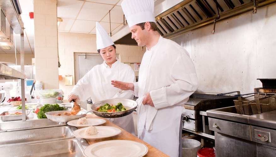 Your new restaurant will need stoves, ovens, sinks, coolers and prep tables, among other things.