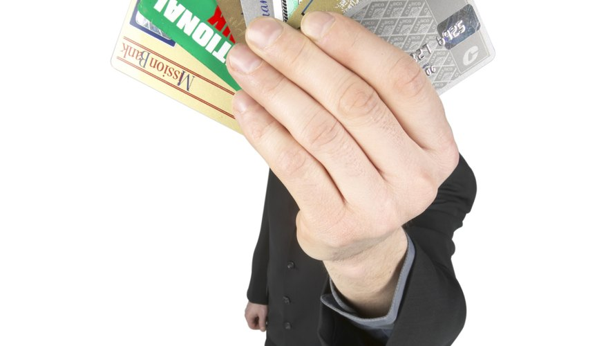 Too many credit cards can lead to overwhelming debt.