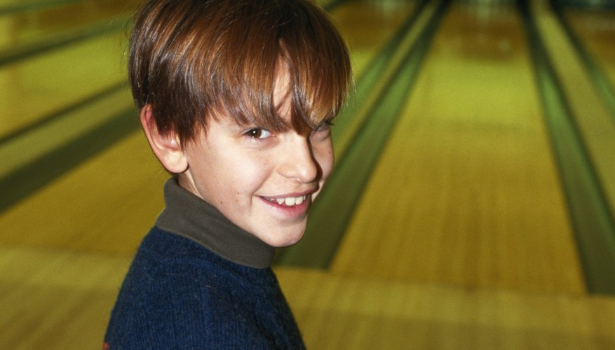 Bowling is one of many kids' activities in the Camp Hill area.
