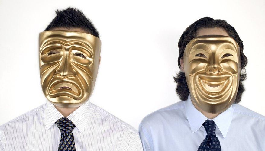 La mayoría de las máscaras griegas antiguas de teatro no sobrevivieron a través de la historia.