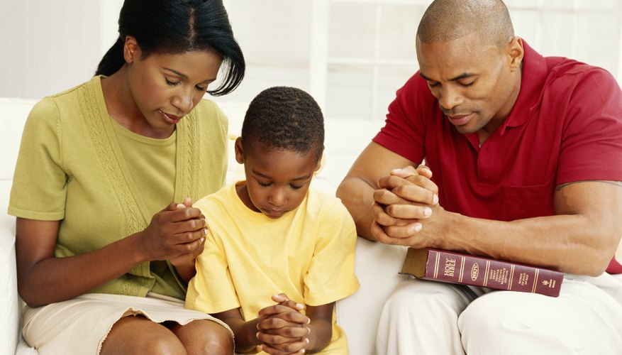 Make family devotions a regular part of your family's life.