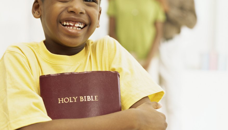 Children can understand that the parable of the good Samaritan teaches love.