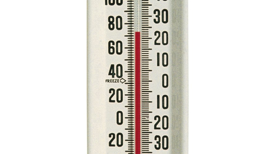 On the left you see room temperature of 72 degrees Fahrenheit, which converts to 22.22 degrees Celsius.