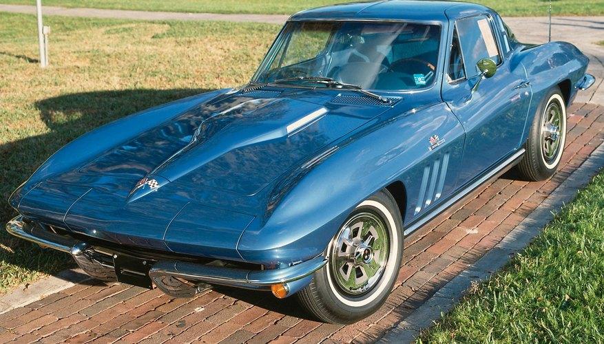 El Corvette fué uno de los primeros en usar un 454 de bloque grande.
