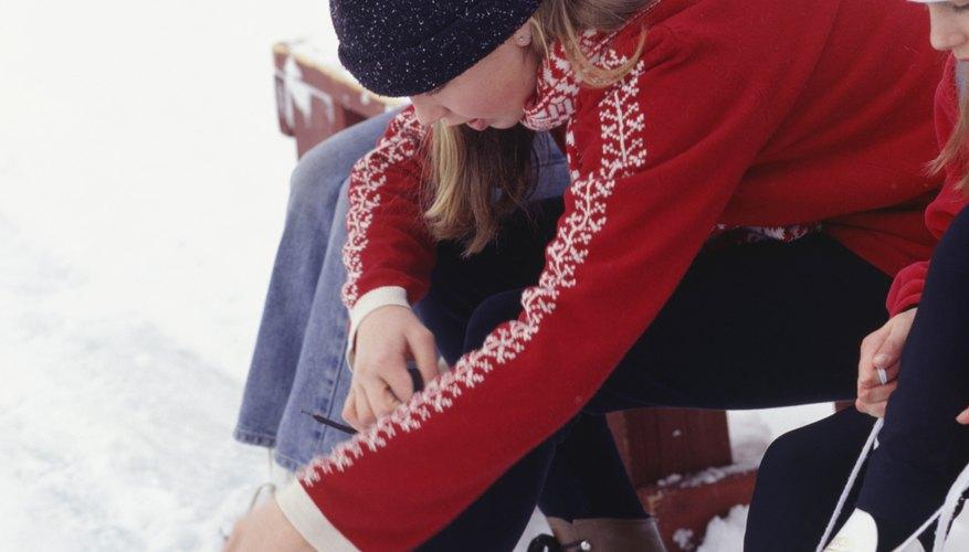 El patinaje sobre hielo es una opción de actividad bajo techo en Riverside.