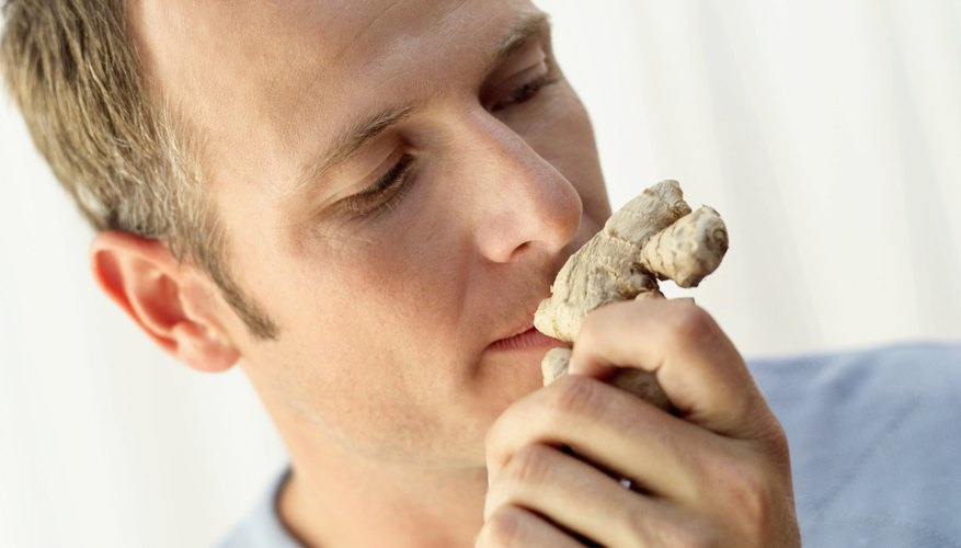 Aromas are unable to reach smell receptors in the naval cavity that send signals to the brain regarding smell.