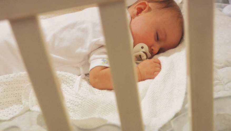 Crib sheets add comfort to your baby's crib.