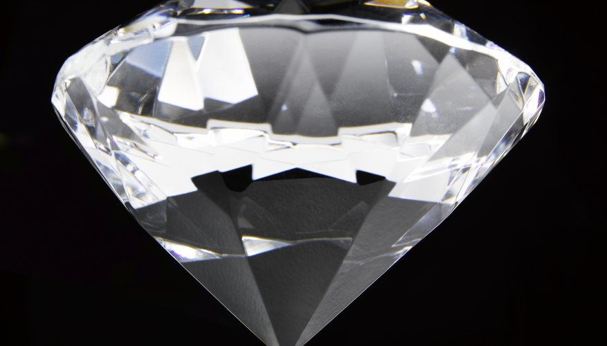 Diamonds exhibit very high resistance to electricity.
