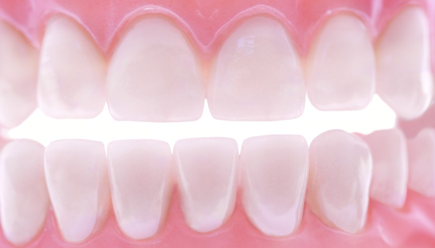 Abrasive agents in whiteners polish teeth.