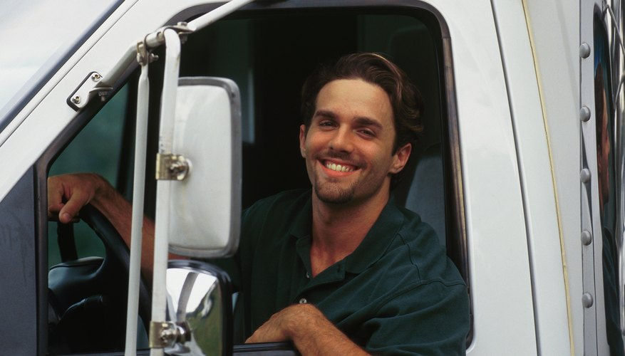 Truck drivers can deduct business-related expenses from their income taxes.