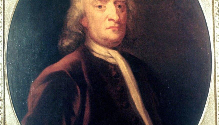 Isaac Newton descubrió el principio básico de la inercia en 1686.