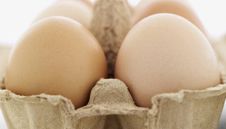 Los cartones de huevo son perfectos suministros para artesanías.