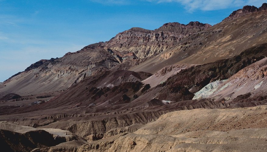 The leeward side of a mountain is typically dry.