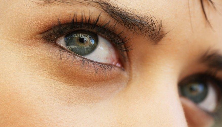 eyes looking sideways