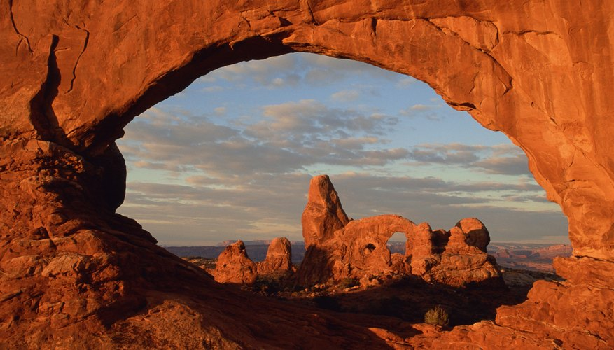 Weathering is a primary tool for scouring out natural rock arches.