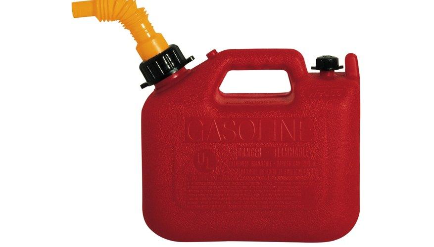 La gasolina puede ser una sustancia altamente corrosiva.