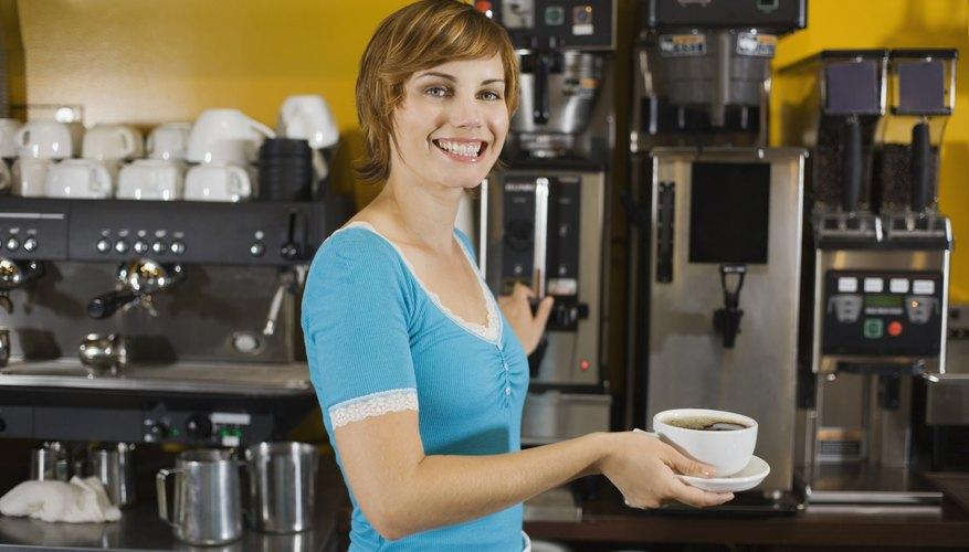 Ofrece un café gratis con algunos de los especiales de desayuno.