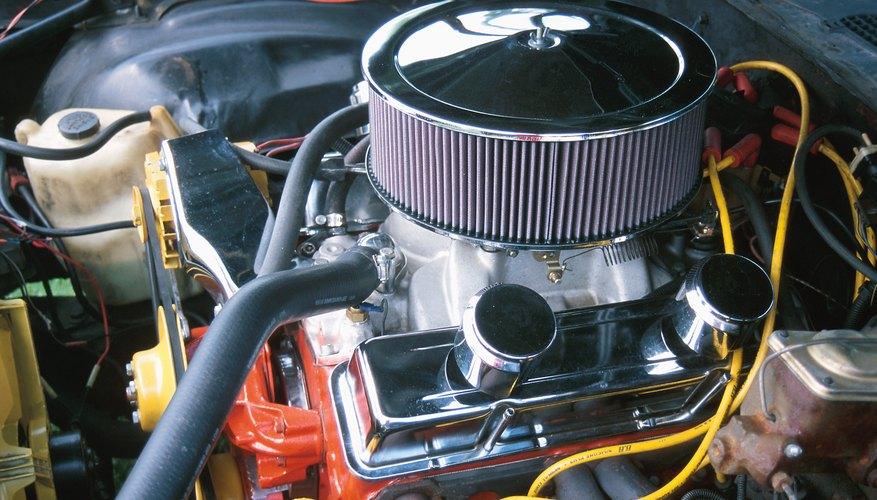 El vacío del motor trabaja en conjunto con la compresión de pico, la entrega de combustible y el rendimiento de encendido máximo.