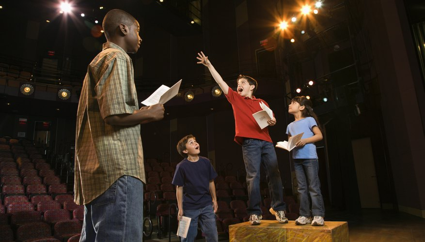 Acting is beneficial for a teen's self-esteem.
