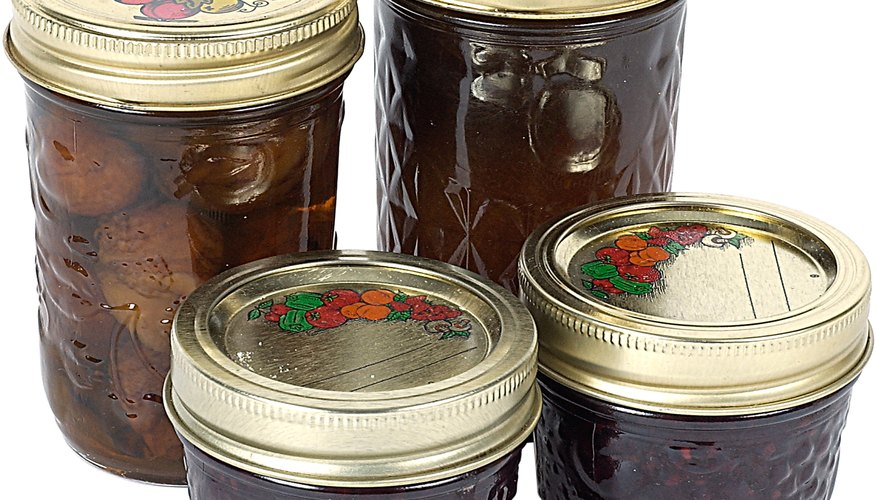 Modern canning jars are made in limited sizes.