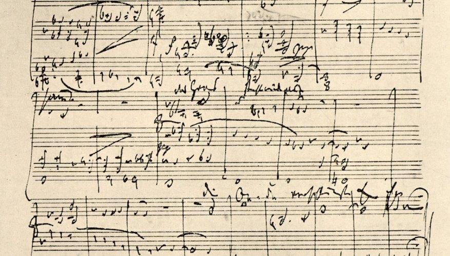 Escribe tus progresiones de acordes para preservar tus composiciones.