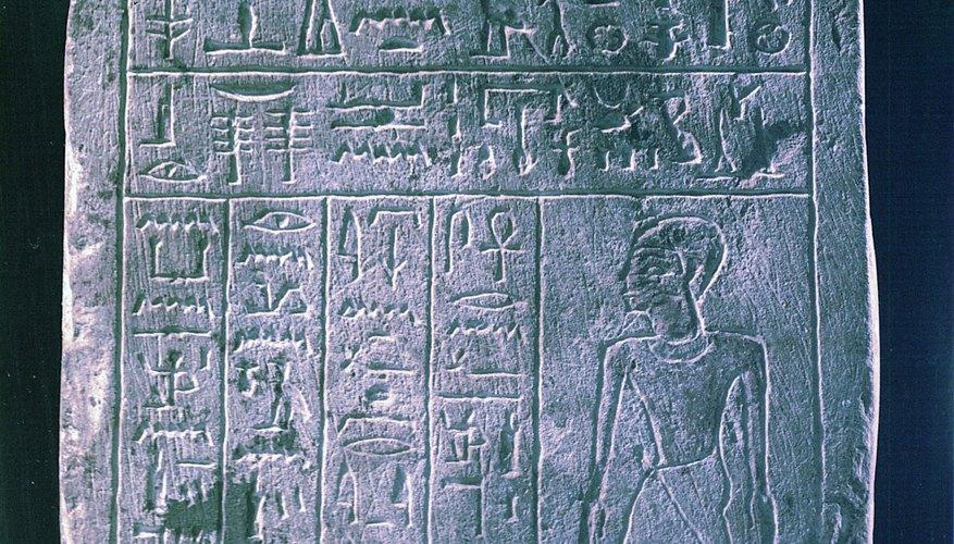 Aprende a escribir frases que la gente pueda traducir en antiguos símbolos egipcios.