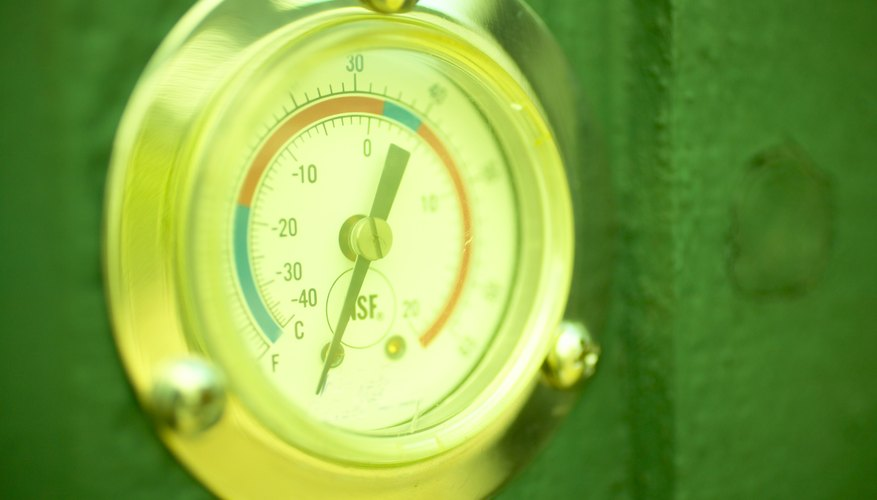 The aneroid barometer is the most common device used today to measure pressure.