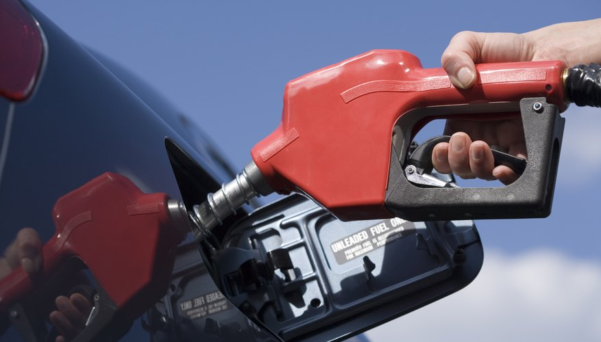 Filling up your tank only is deductible if it's for business, not pleasure.