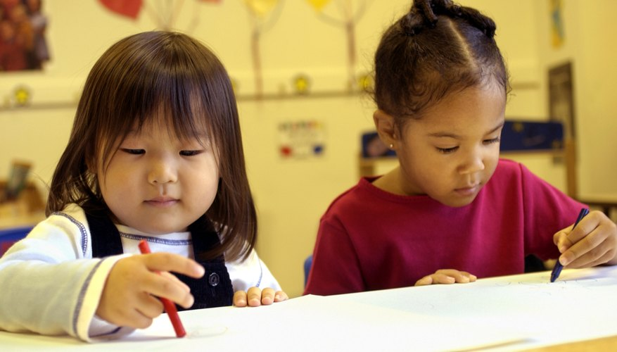 During the early years, children begin to learn skills they will need in school.