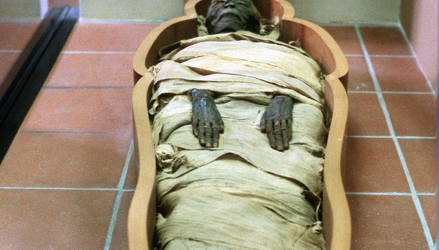 Mummification was so effective at preservation, intact bodies still exist.