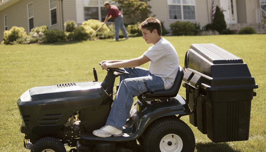 MTD lawn tractors are a common sight in suburban America.
