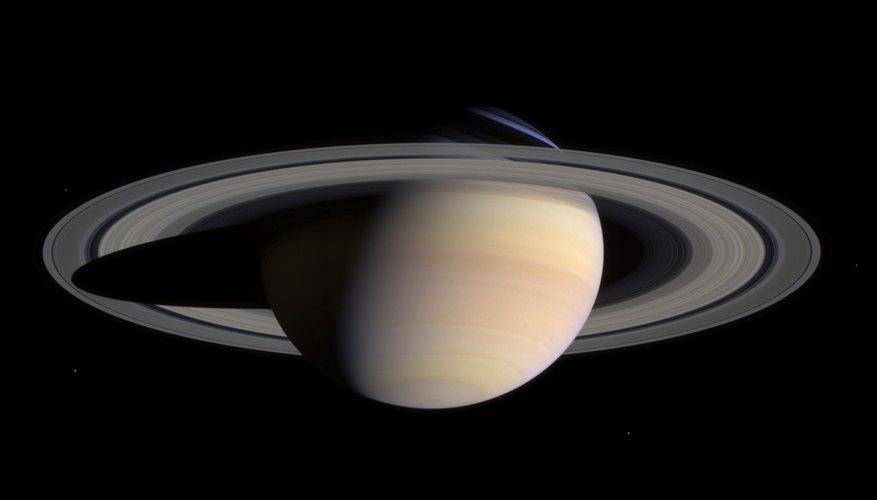 Cassini spacecraft view of Saturn