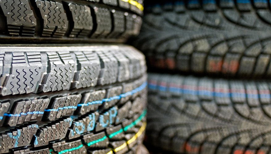 Minimum tread depths are specified in your lease contract.
