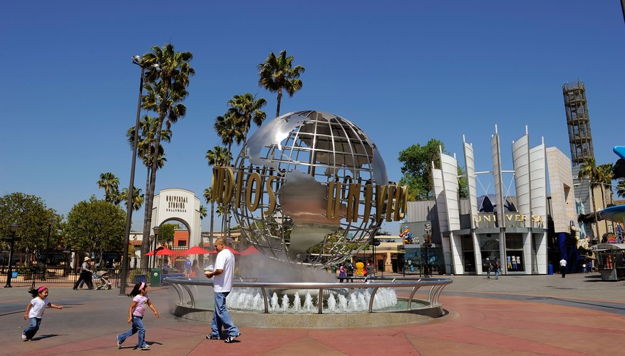 Parque temático Universal Studio Hollywood, California.