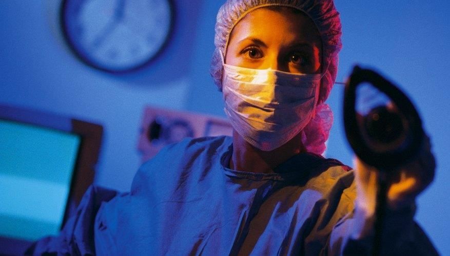 Un investigador en el laboratorio.