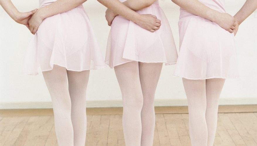 Encuentra la forma de cuerpo ideal para el ballet.