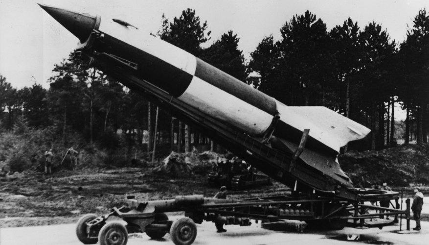 The German V-2 missile.