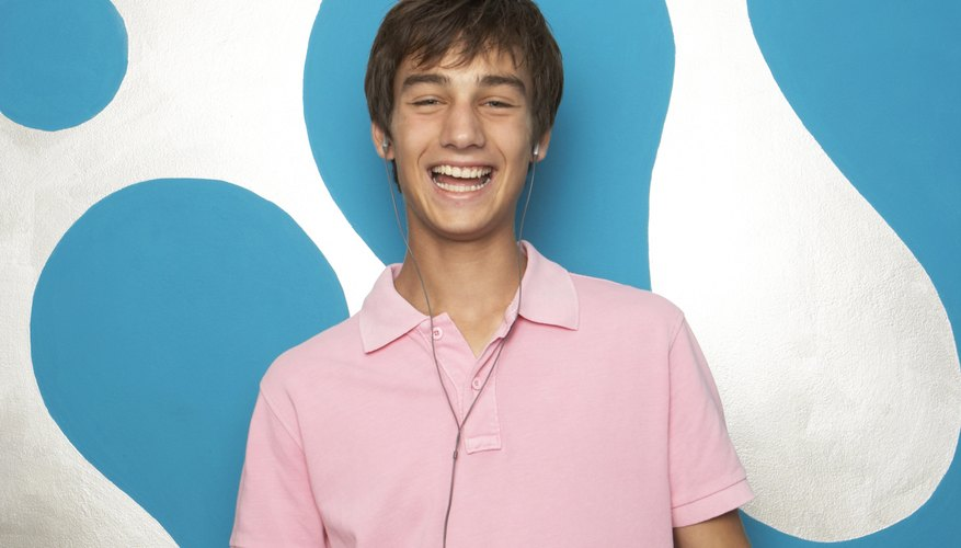 A school dress-code might place rules on the style and color of shirts that can be worn.