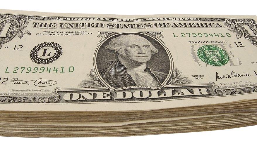 Los billetes de US$1 pueden ser muy útiles en una tienda del dólar.