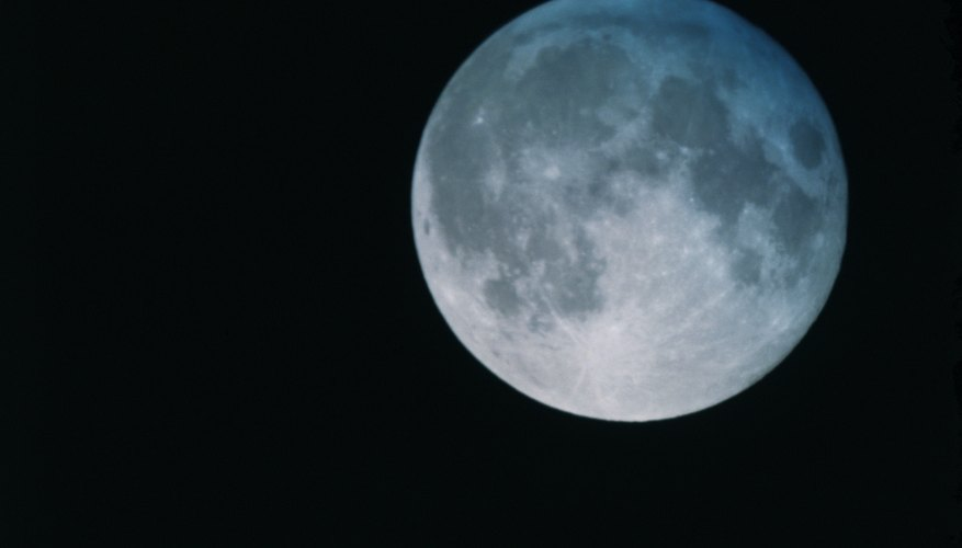 The moon's lack of an atmosphere leads to temperature extremes.
