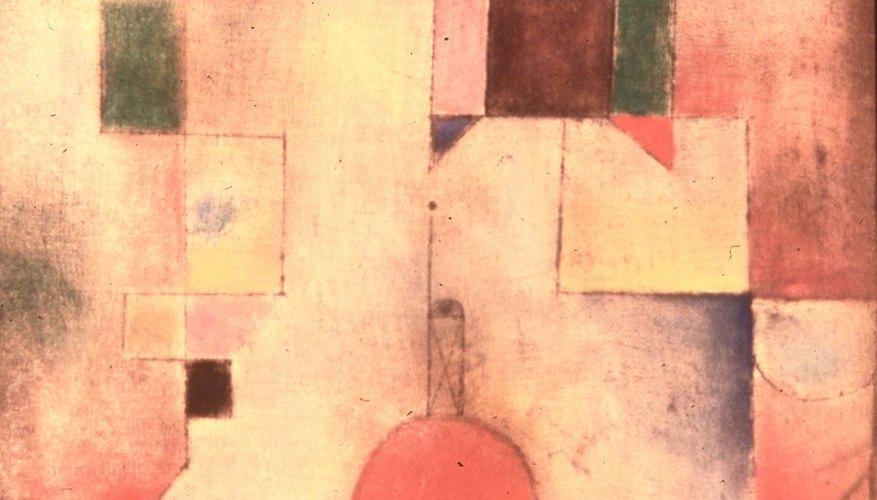 Los objetos redondos en el cubismo tienen un énfasis adicional.