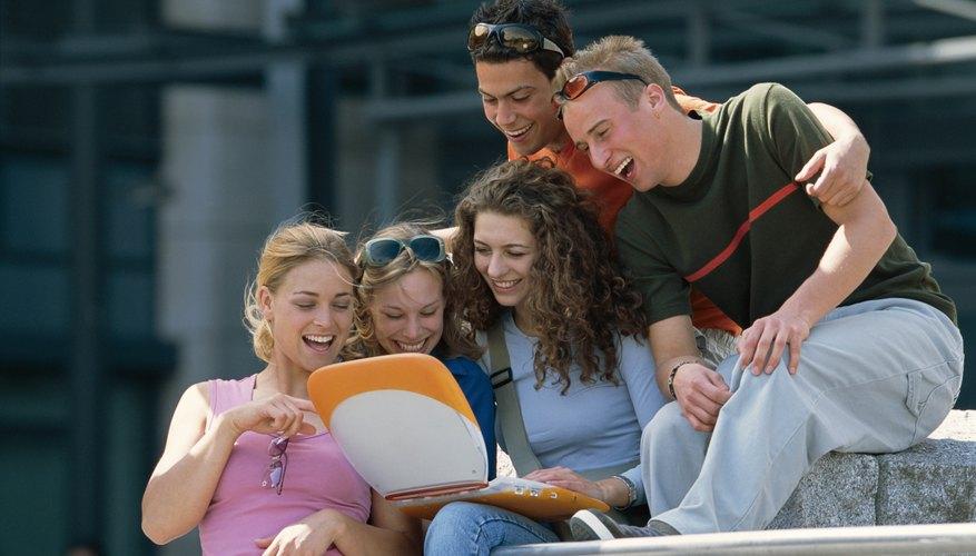 El 17% de los estudiantes habla con sus amigos y familia para reducir el estrés.