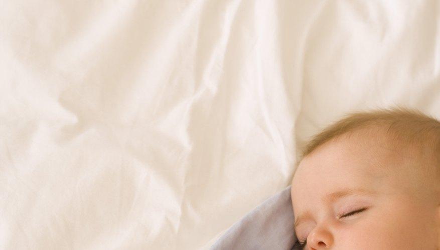 Your scent on a blanket can be comforting to your baby.