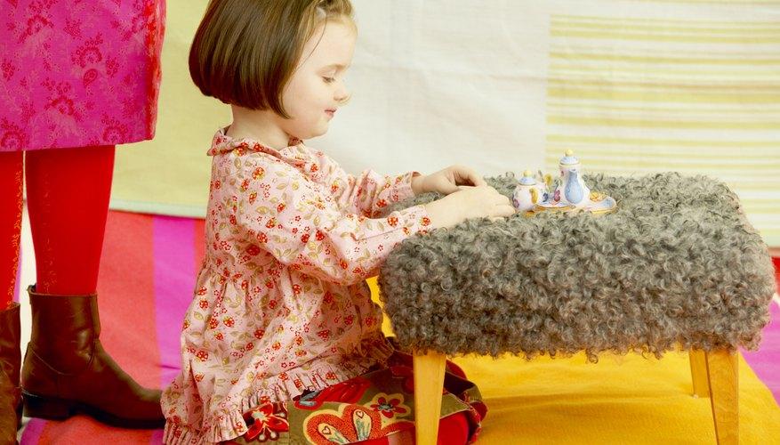 Las alfombras pueden definir un área que está destinada a la reproducción, estudio o actividades motrices, en función del tipo y el tamaño seleccionado.