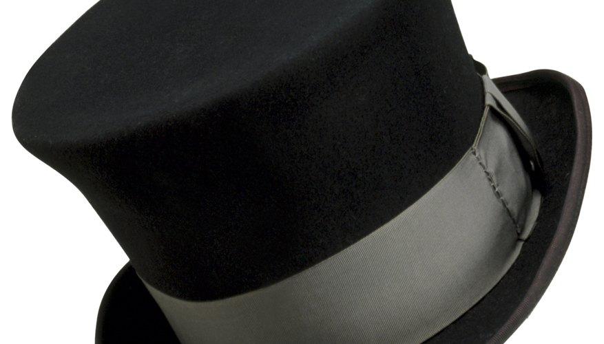 Crea un sombrero de copa fresco para darle a tu estilo un atractivo vintage.