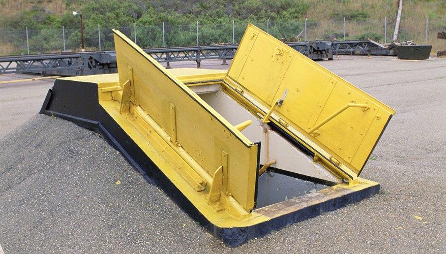 El búnker está diseñado para proteger de envenenamiento por radiación.