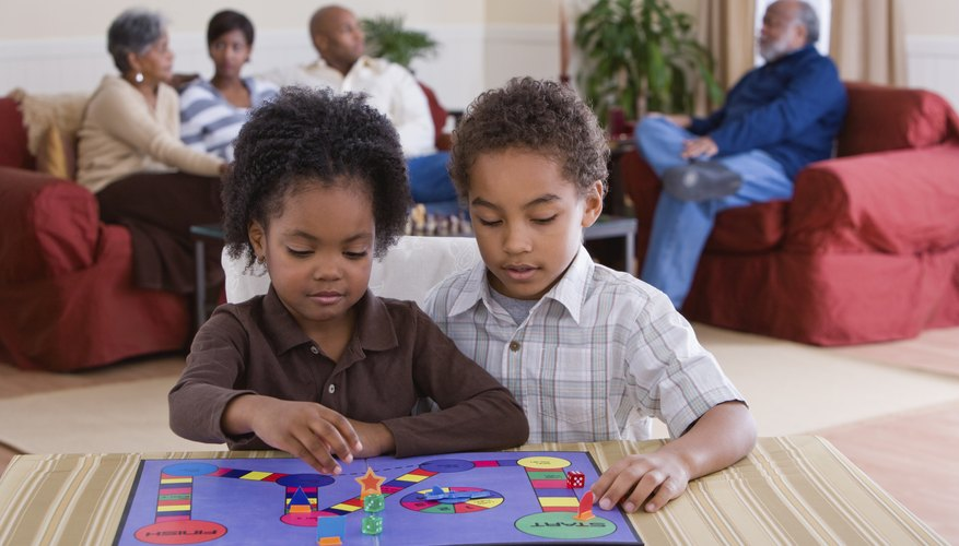 Board games can inspire children to think about things from new perspectives.